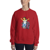 Esperanza From Raising Dion (Yellow Cartoon) D.D.N.E.L. Sweatshirt