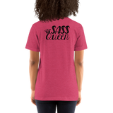 Sass Queen Front/Back (Esperanza - Raising Dion) Unisex Light Color Shirts