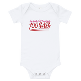 My Genetic Tests Came Back 100 SASS (Baby Onesie)