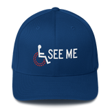 See Me (Not My Disability) Structured Twill Cap