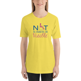 Not All Disabilities are Visible (Women's Design) Shirt