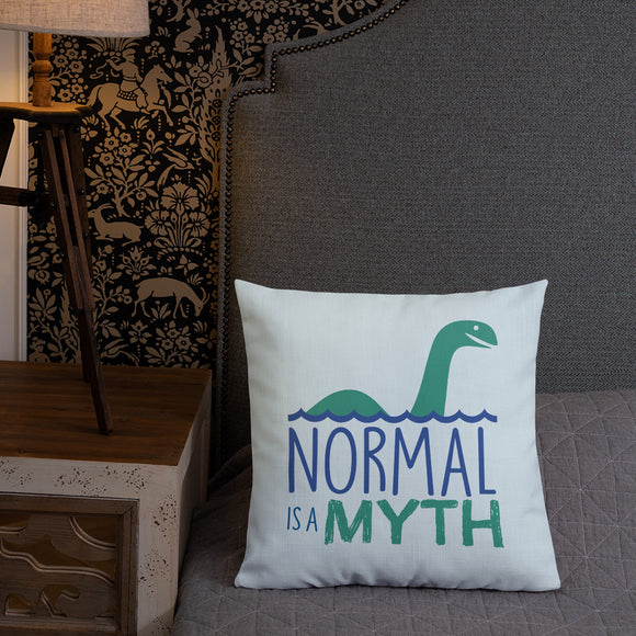 pillow normal is a myth loch ness monster lochness peer pressure popularity disability special needs awareness inclusivity acceptance activism