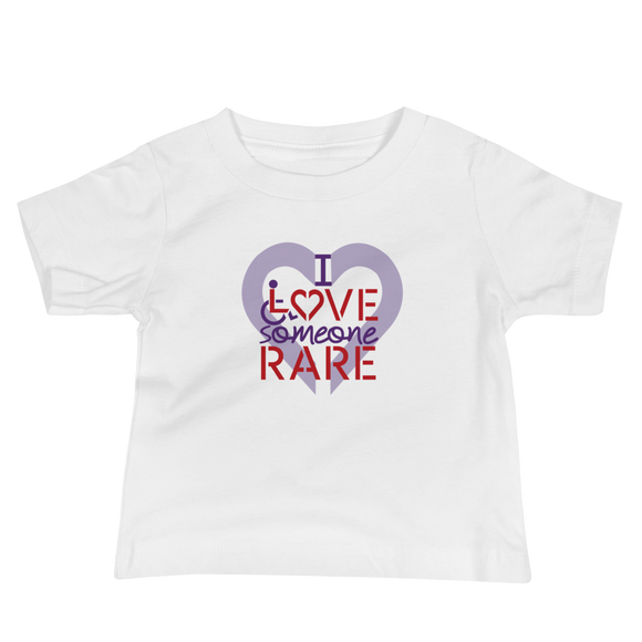 baby shirt I Love Someone with a Rare Condition medical disability disabilities awareness inclusion inclusivity diversity genetic disorder