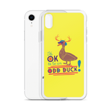 It's OK to be an Odd Duck! iPhone Case (Men's Colors)