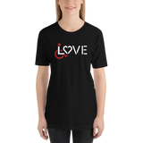 LOVE (for the Special Needs Community) Unisex Shirt Dark Colors