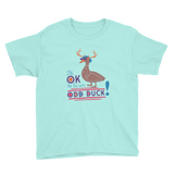 It's OK to be an Odd Duck! Youth Shirt (Boy's Colors)
