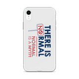 There is No Normal (Grey iPhone Case)