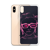 I Love Pink (Esperanza - Raising Dion) Pink on Navy iPhone Case