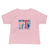 Normal is a Myth (Bigfoot & Loch Ness Monster) Baby Shirt