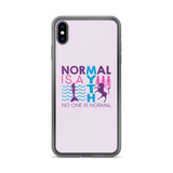 Normal is a Myth (Mermaid & Unicorn) iPhone Case