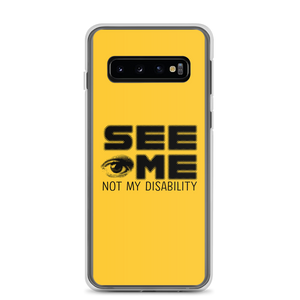 Samsung case See me not my disability wheelchair invisible acceptance special needs awareness diversity inclusion inclusivity