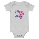 I've Got You Wrapped Around My Little Finger (Baby Onesie)