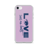 Love Sees No Limits (Halftone Design, iPhone Case)