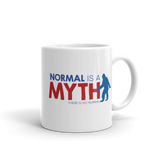 Normal is a Myth (1 Mug with Bigfoot & Loch Ness Monster Side)