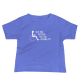 See the Person, Not the Disability (Baby Black/Blue Shirts)