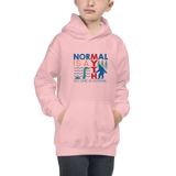Normal is a Myth (Bigfoot & Loch Ness Monster) Kid's Hoodie