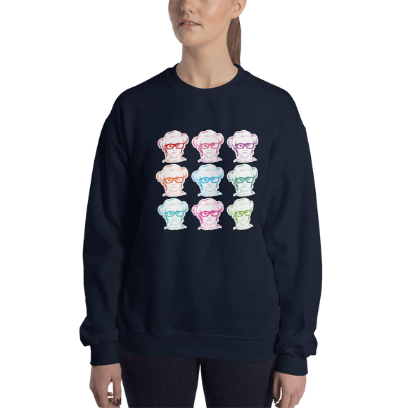 sweatshirt 9 Different Colored Faces of Sammi Haney Esperanza Netflix Raising Dion fan sassy wheelchair pink glasses disability osteogenesis imperfecta OI