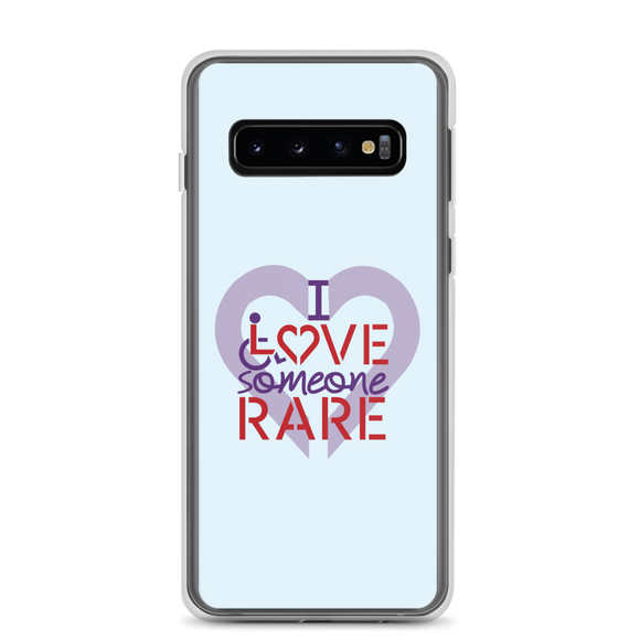 Samsung case I Love Someone with a Rare Condition medical disability disabilities awareness inclusion inclusivity diversity genetic disorder