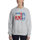 Normal is a Myth (Sign Icons) Sweatshirt