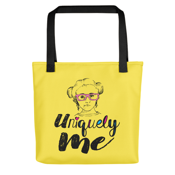 tote bag Uniquely me Raising Dion Esperanza Netflix Sammi Haney unique different one of a kind be yourself acceptance diversity individual