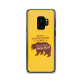 Never Underestimate the power of a Special Needs Mama Bear! Samsung Case
