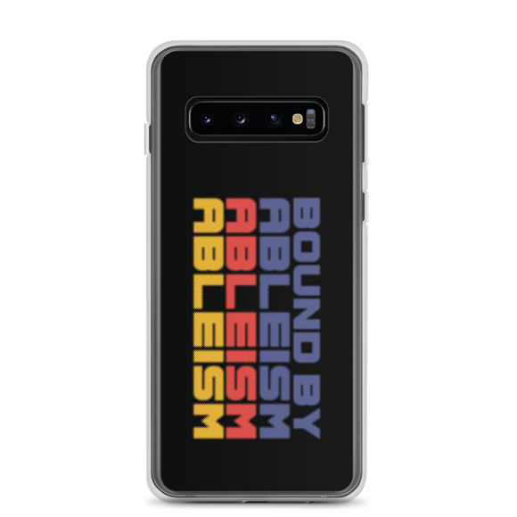 Samsung case Bound by Ableism wheelchair bound ableism ableist disability rights discrimination prejudice special needs awareness diversity inclusion