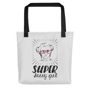Tote bag Fan Sammi Haney Esperanza Netflix Raising Dion super sassy wheelchair pink glasses sass sassy disability osteogenesis imperfecta OI