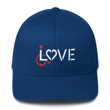 LOVE (for the Special Needs Community) Structured Twill Cap