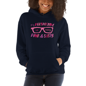 hoodie My Perspective is Very Pink & Sassy Fan Sammi Haney glasses Esperanza Netflix Raising Dion little girl wheelchair sass