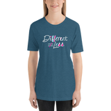 Different Does Not Equal Less (As Seen on Netflix's Raising Dion) Adult Dark Shirts
