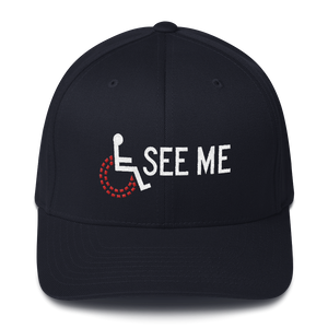 hat cap see me not my disability wheelchair inclusion inclusivity acceptance special needs awareness diversity