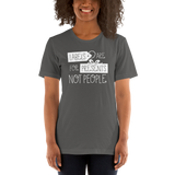 Labels are for Presents Not People (Unisex Dark Colors)