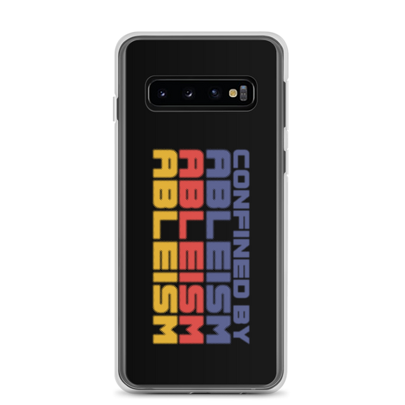 Samsung case Confined by Ableism confined to a wheelchair bound ableism ableist disability rights discrimination prejudice special needs awareness diversity inclusion