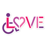 LOVE (for the Special Needs Community) Women's Sticker