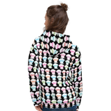 Sammi Haney (Esperanza - Raising Dion) Faces All-Over Unisex Hoodie