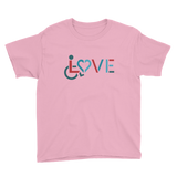 LOVE (for the Special Needs Community) Shirt (Boy's Youth/Unisex)