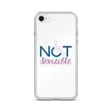 Not Invisible (Women's White iPhone Case)