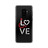 LOVE (for the Special Needs Community) Samsung Case Stacked Design 1 of 3