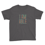 I am Able (Youth Shirt)