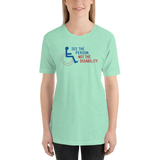 See the Person, Not the Disability (Unisex Light Color Shirts)