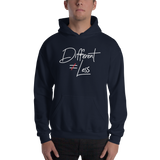 Different Does Not Equal Less (Original Clean Design) Hoodie Dark Colors