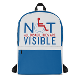 backpack school not all disabilities are visible invisible disabilities hidden non-visible unseen mental disabled Psychiatric neurological chronic