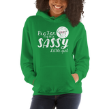 Big Fan of this Sassy Little Girl (Esperanza - Raising Dion) Hoodie Dark Colors