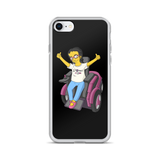 Esperanza From Raising Dion (Yellow Cartoon) D.D.N.E.L. Black iPhone Case