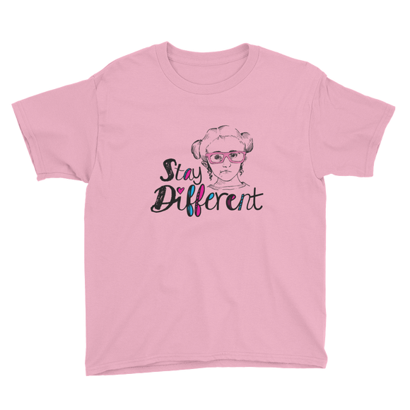 shirt stay different Raising Dion Esperanza fan Netflix Sammi Haney wheelchair pink glasses disability osteogenesis imperfecta