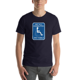 Not All Disabilities are Visible (Unisex Sign T-Shirt)