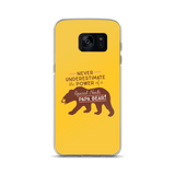 Never Underestimate the power of a Special Needs Papa Bear! Samsung Case