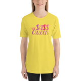 Sass Queen (Shirt) Pink on Light / Dark