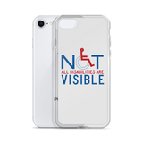 Not All Disabilities are Visible (iPhone Case)