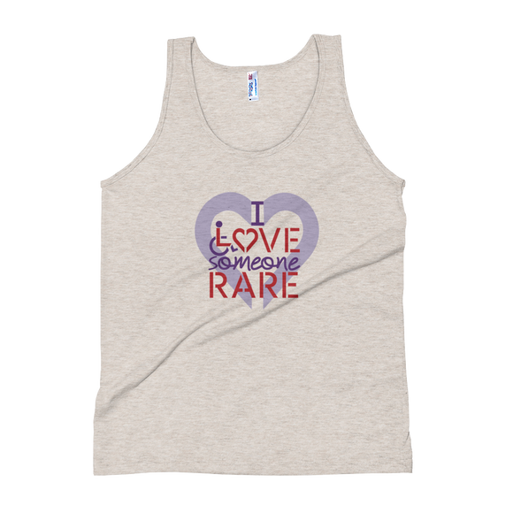 tank top I Love Someone with a Rare Condition medical disability disabilities awareness inclusion inclusivity diversity genetic disorder